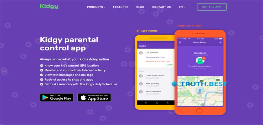 Kidgy Reviews - Reliable App for Parental Control