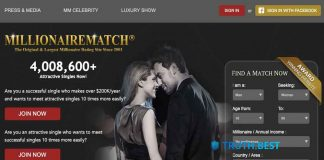 MillionaireMatch: A Dating Site to Meet a Richman