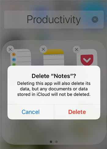 Method 1: Remove Any App From iPhone With 3D Touch Step 2