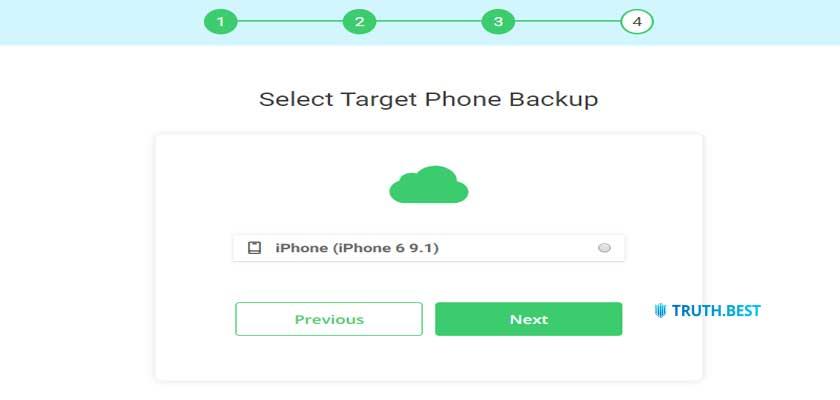 How to setup Spyic on iOS Step 2
