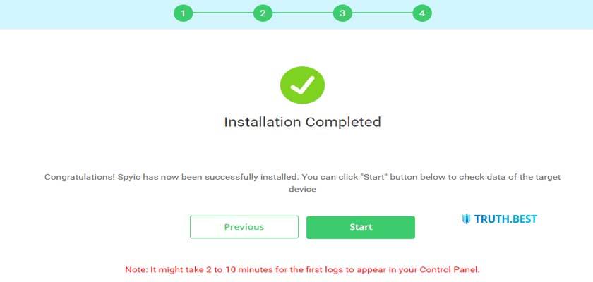 How to setup Spyic on iOS Step 3