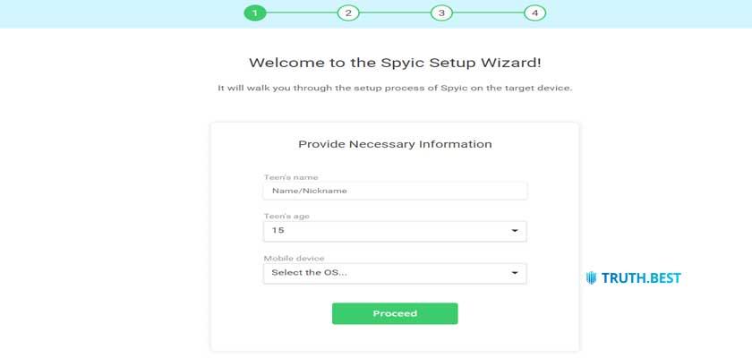 How to setup Spyic on iOS